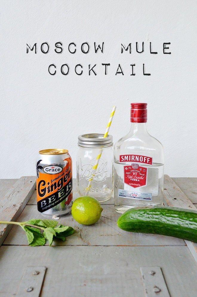 Recipe: Moscow Mule cocktail with cucumber