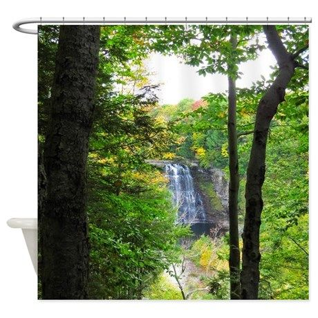 The 59 best Nature Scenery Shower Curtains images on Pinterest ...