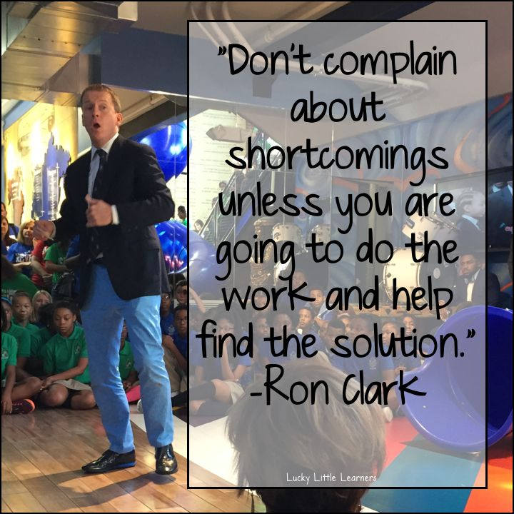 Well, it's been a few weeks since my Ron Clark Academy experience and I think that I am finally ready... Read Post