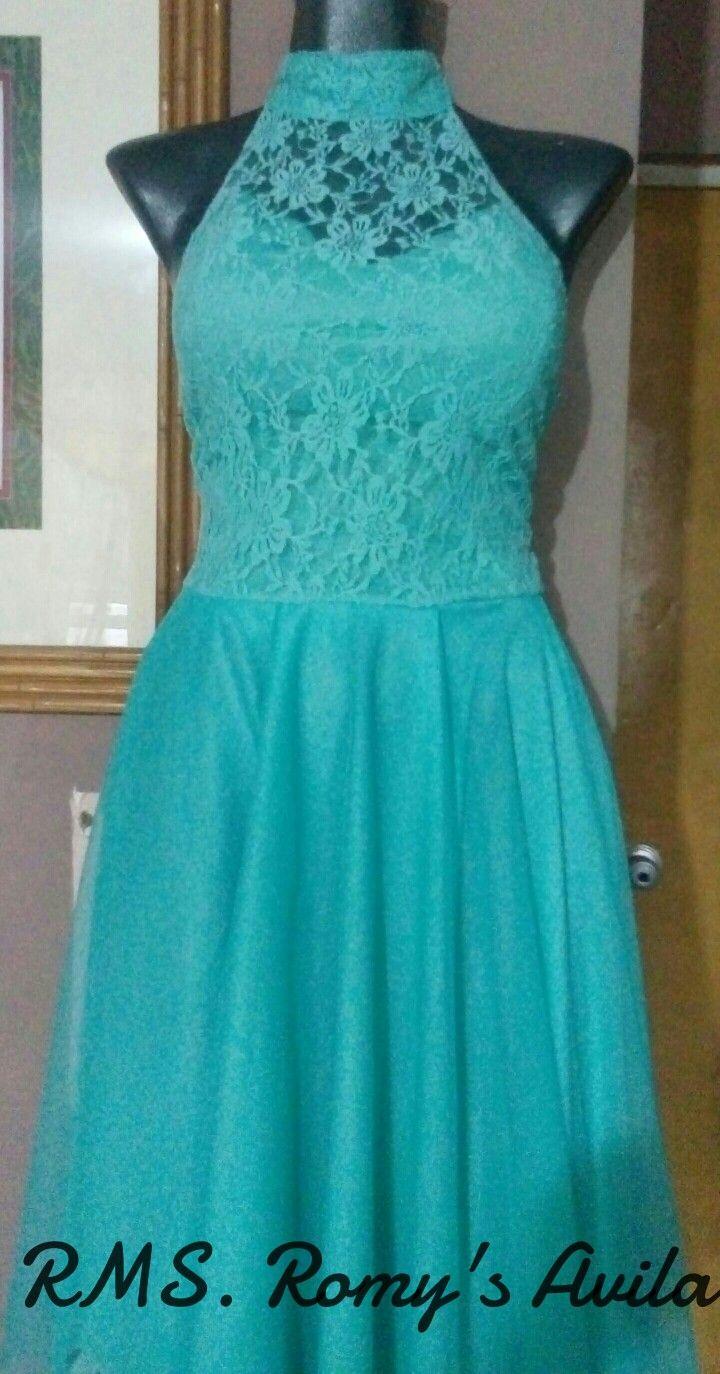 Vestido T=S (regalo para mi sobrina) RMS...