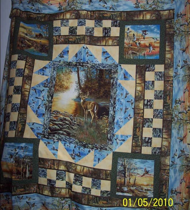 46 Best Images About Quilt Name Blake Panel Deer On