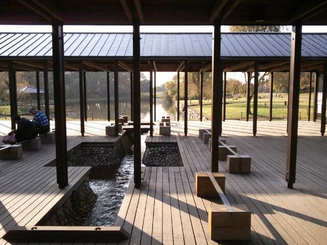 古河総合公園 管理棟(内藤廣)・レストハウス(妹島和世)の画像 | 淡色生活