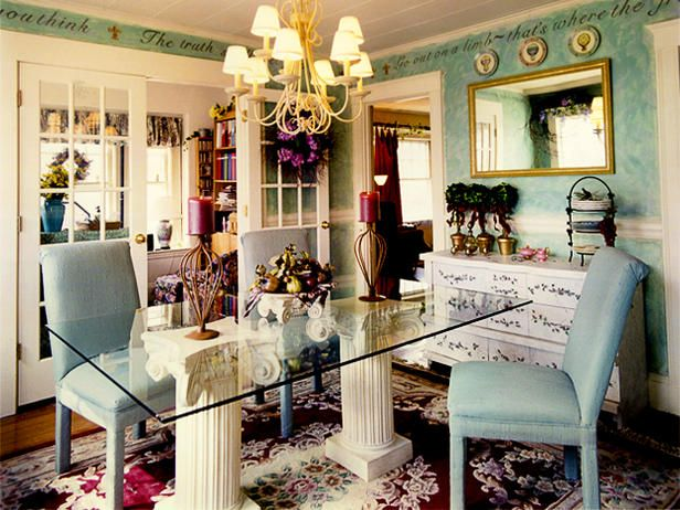 Eclectic Dining-rooms from Jayne Pelosi on HGTV