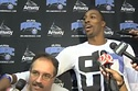 The Most Awkward Interview Ever In 7 Easy Steps  Dwight Howard asked Orlando Magic management that head coach Stan Van Gundy be fired. Van Gundy confirmed that to reporters only to have Howard interrupt the interview and try to pretend that he and the coach were friends. Are you strong enough to watch the whole thing?