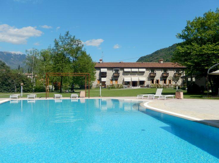 #cadelach #piscina #revinelago #treviso