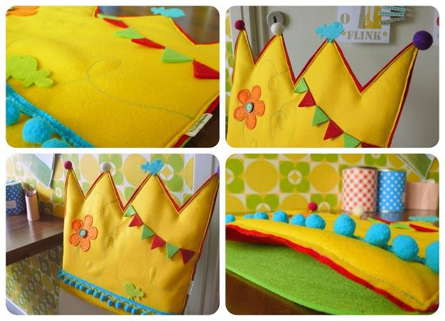 verjaardagsstoel - kroon