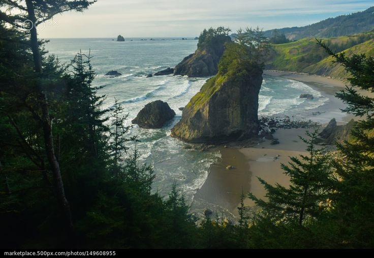 Samuel H Boardman State Park, Curry County, Oregon - stock photo