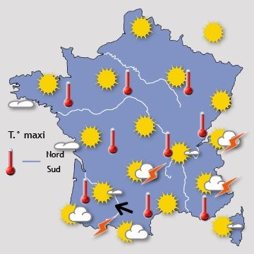 Paris - Prévisions météo à 15 jours - Le premier site météo pour Paris et l'île-de-France - gratuit et professionnel - Paris weather