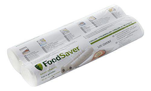 FoodSaver - FSR2802-I - Pack de 2 rouleaux pour appareil de mise sous vide - 28 cm x 5.5 m