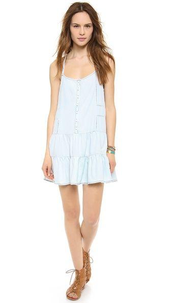 perfect denim smock summer dress