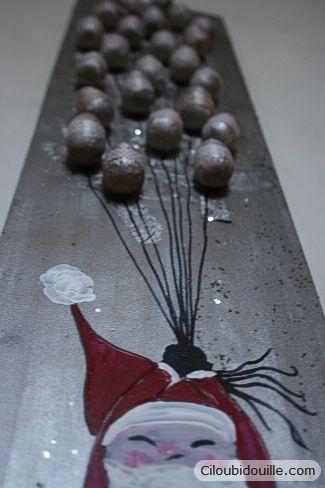 Calendrier de l'avent Père Noël | Ciloubidouille