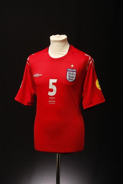 England Football Shirt (Away, 2004-2006)
