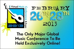 Win One of 10 Free Passes to the Virtual Music Conference ($47 value).: Virtual Music, Music Conference, Online Music, Music Marketing, Music Industrial