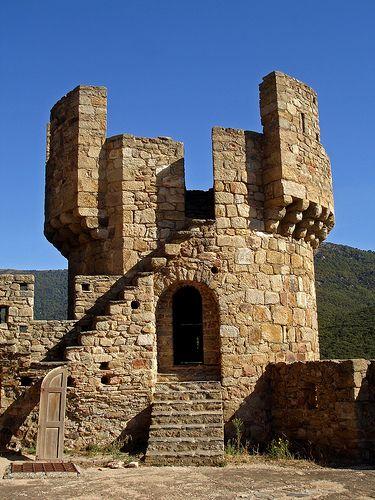 Castell de Requesens - Alt Empordà . Catalonia.