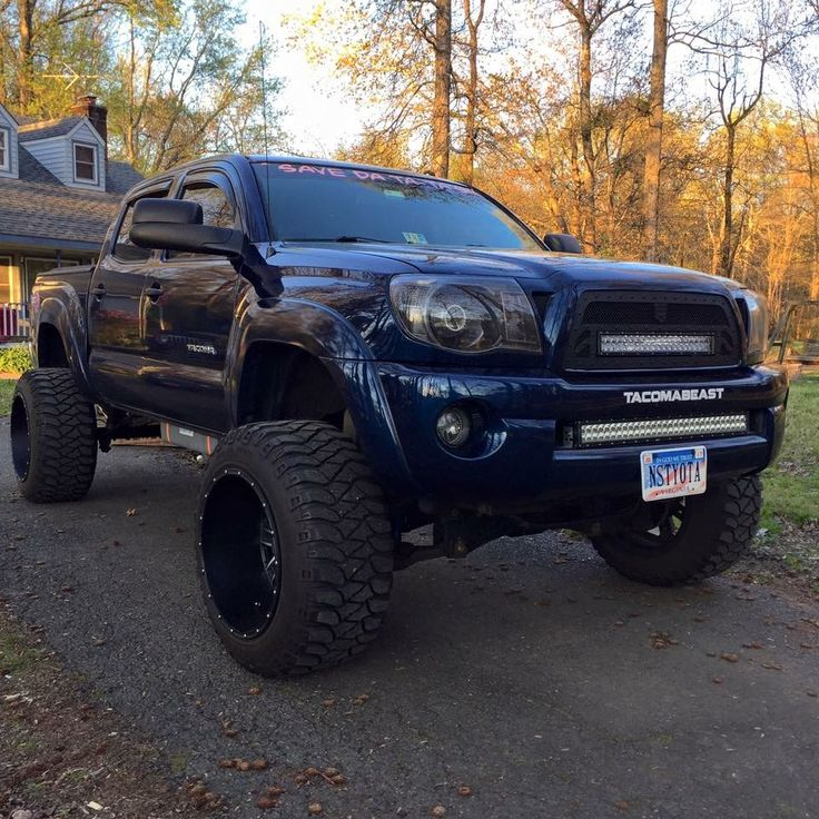 #Toyota #Tacoma #Lifted #4x4 #Modified #Stance #Aftermarket_Suspension
