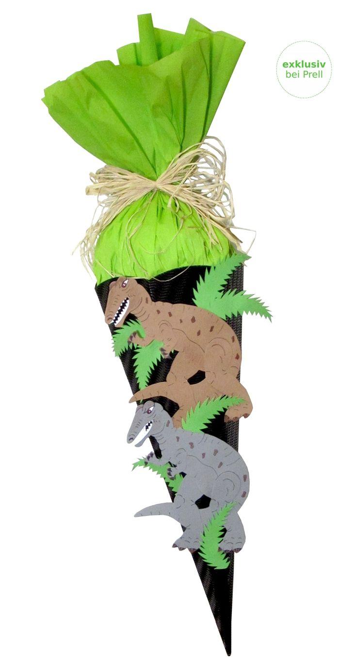 Jungs Schultüte Dinosaurier inkl. Schulstarterpaket finden Sie unter http://www.prell-versand.de/Basteltechniken/Bastelmaterial/Schultueten/Schultueten-nur-bei-Prell/Schultuete-Bastelset-Dinosaurier-inkl--Schulstarterpaket-GRATIS.html