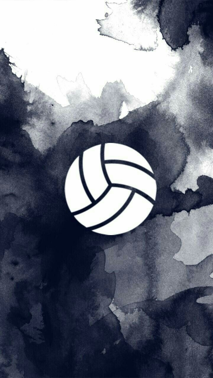 Pin By Kennedee Wilson On Fondos Volleyball Drawing Volleyball Wallpaper Volleyball Backgrounds