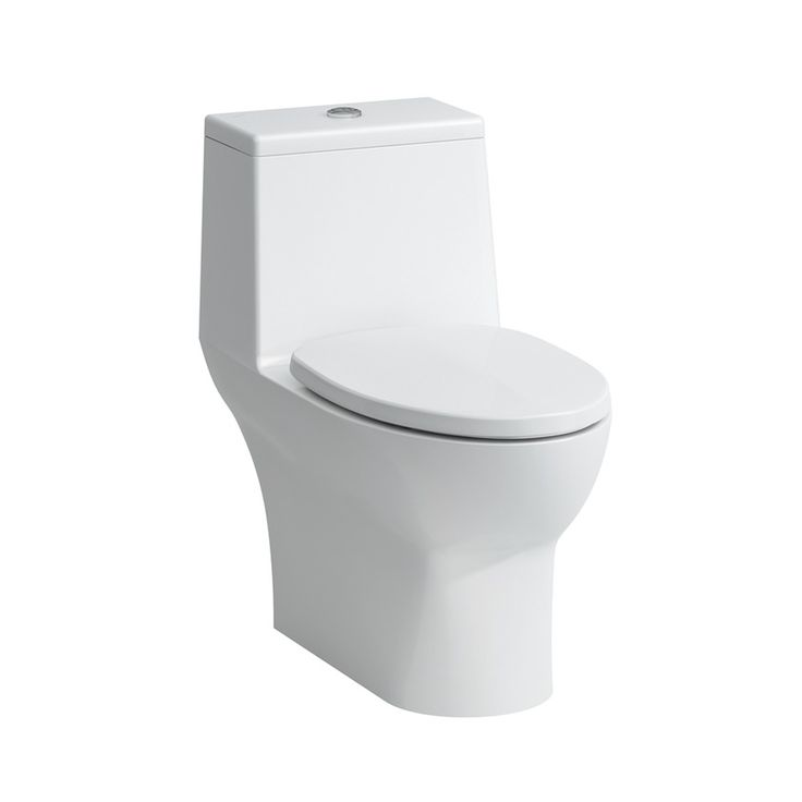 $451.75 Laufen Savoy, Option for Master, Floorstanding onepiece WC siphonic / elongated