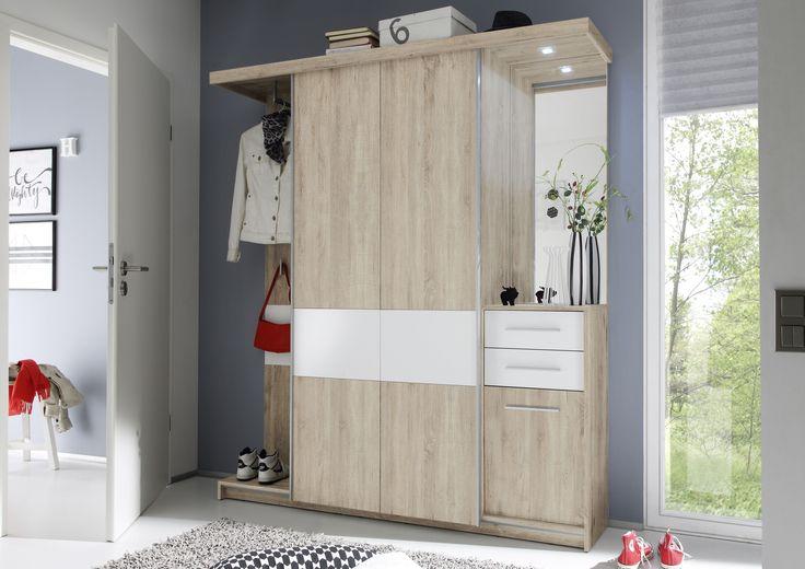 13 Erstaunlich Garderobe Holz Weiss