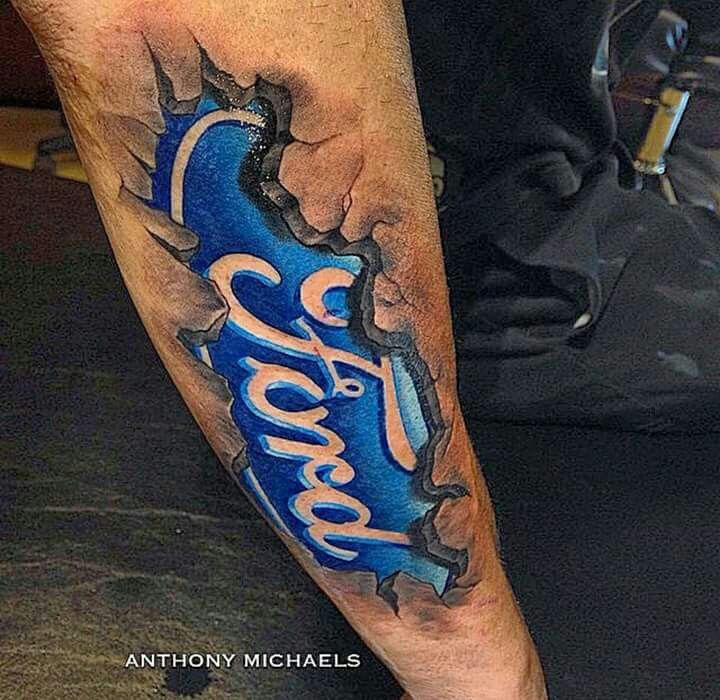 Ford tattoo