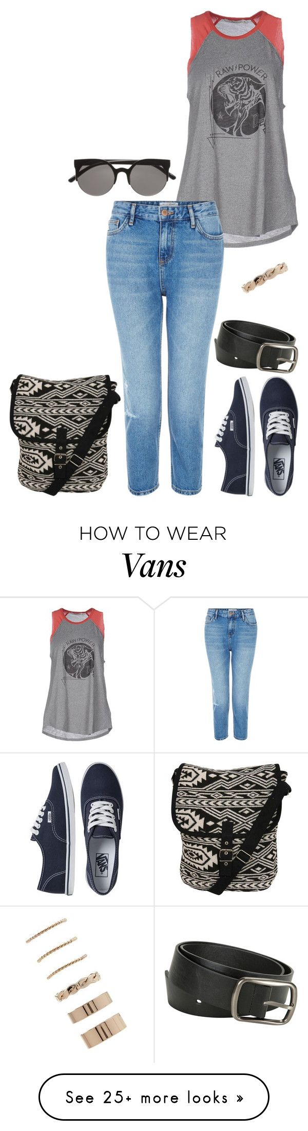 """01/06/19"" by sarahulliel on Polyvore featuring OBEY Clothing, New Look, Vans, Pilot, H&M and Forever 21"