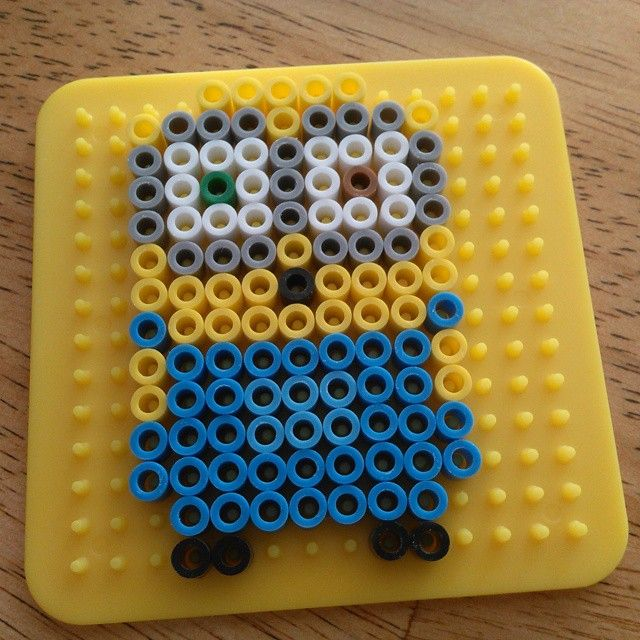 Bob minion perler beads by tonkslife