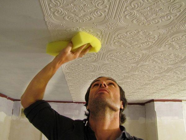 Styrofoam Ceiling Tiles Awesome Ceiling Design Ideas Tapezieren Deckengestaltung Zimmerdecken