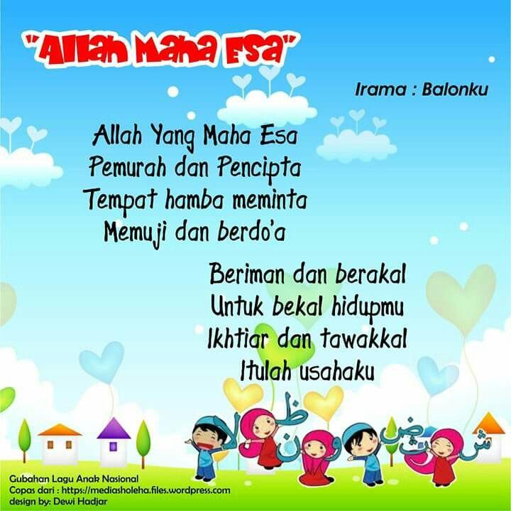 Allah Maha Esa versi 2 (original song Balonku)