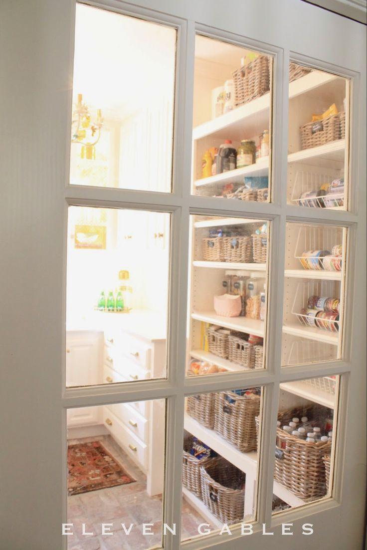 Eleven gables butler 39 s pantry pocket door diy home for Butler pantry pictures