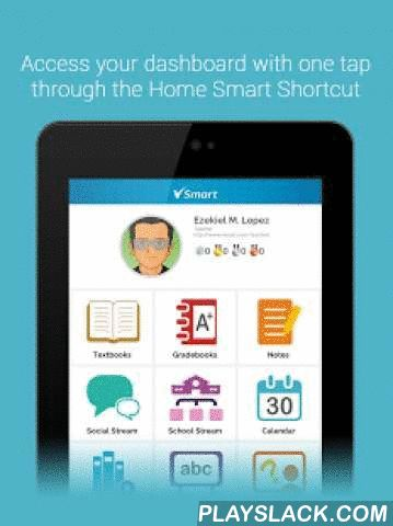V-Smart  Android App - playslack.com ,  V-Smart is an integrated learning management system for the mobile age, engineered by Filipinos. It has been developed in partnership with education experts to give teachers and school administrators all the tools they need to create a 21st-century digital classroom. This app features an interactive e-textbook reader, gradebooks, social streams, a quiz creator, learning analytics tools, and gamified learning. When used in conjunction with the V-Smart…