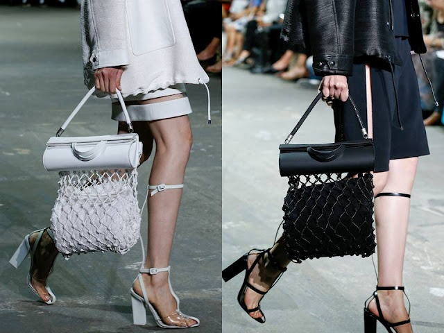 New bags by Alexander Wang.