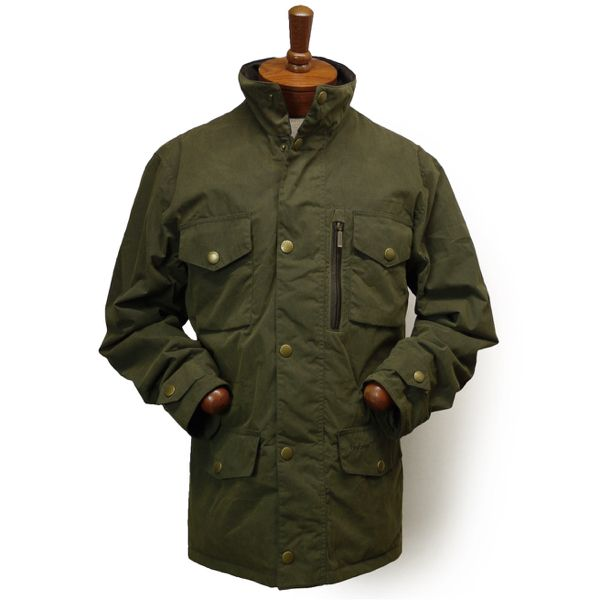 Barbour Sapper Jacket バブアー フィールドジャケット ミリタリージャケット(※訳有品)【$429】 [045]