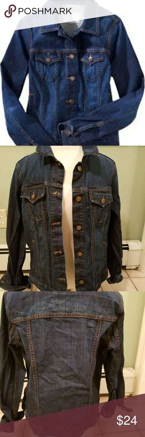 OLD NAVY JEAN JACKET!! XL. FRESHLY WASHED! GREAT CONDITION Old Navy Jackets & Coats Jean Jackets