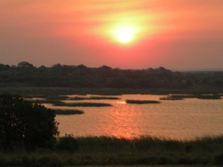 Ponta Do Oura sunset, Mozambique