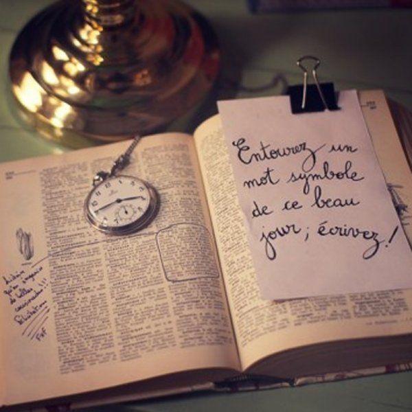 Un livre d'or-dictionnaire - Marie Claire Idées