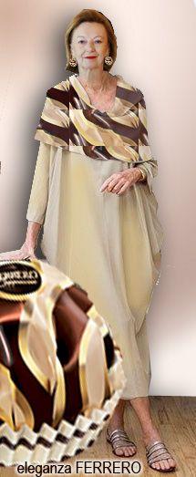 eleganza Ferrero #eleganzaferrero #ferrerocappuccino #ferrero #cioccolatini #moda #dolce #dolci #chocolate #chocolats #eleganza_ferrero #ferreroitalia #mariafrancafissolo #baebaonibijoux