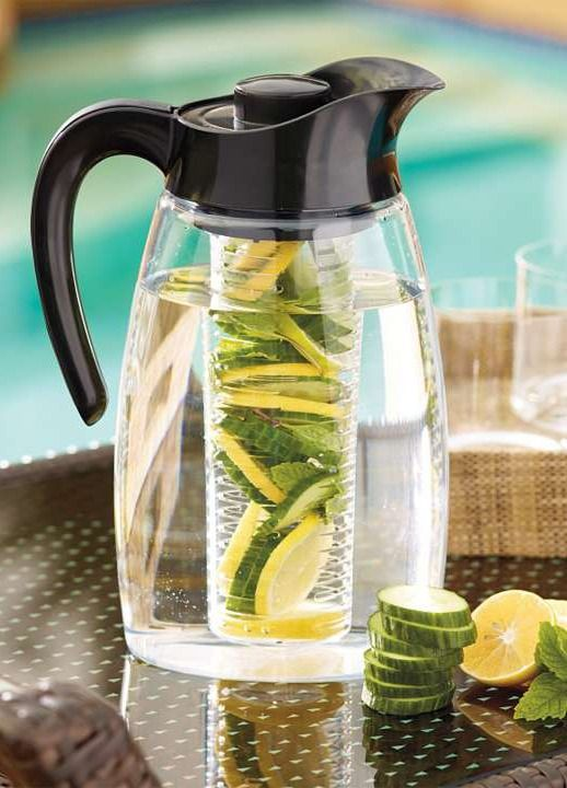 Infuse the flavor of fruit, herbs, or spices into your favorite drinks.