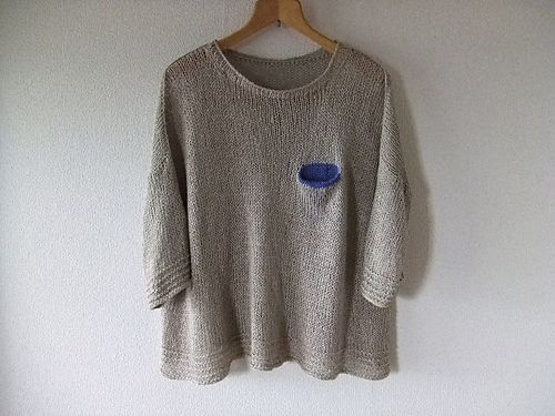 Ravelry: wakane's ポケットつきプルオーバーPoint, Knits Inspiration, Ravelry Wakane, Knits 2013, Style, Ravelry Pullover, Tricot Crochet, Inspiración Yló, Wakane ポケット