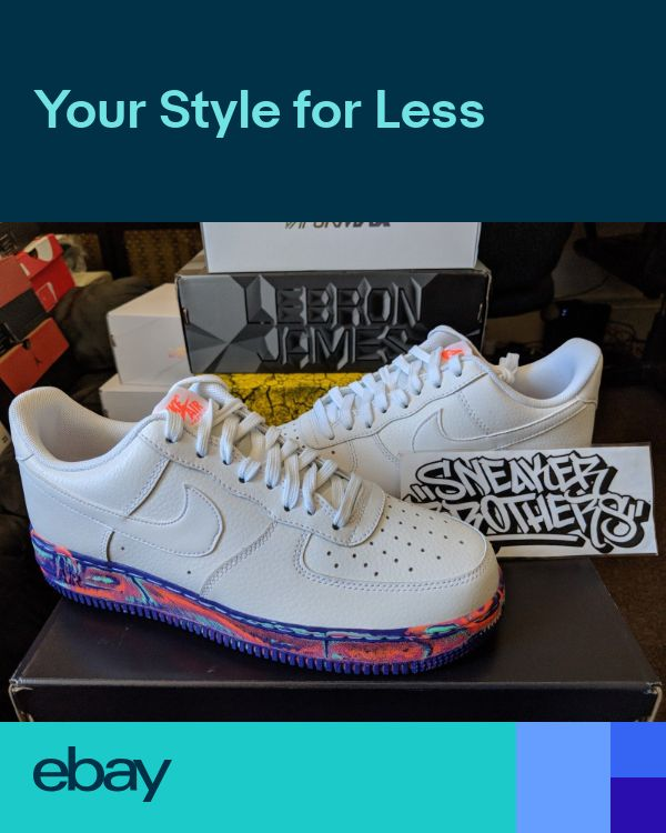 53279535aa084 Nike Air Force One 1 LV8 LTHR Low White Marble Multi-Color Red Orange AJ9507 -100 | AF1 in 2019 | Nike air force ones, Nike air force, Air force ones