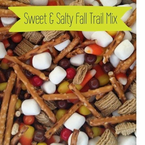 sweet salty fall trail mix the childrens nest - Fall Decorations For Sale