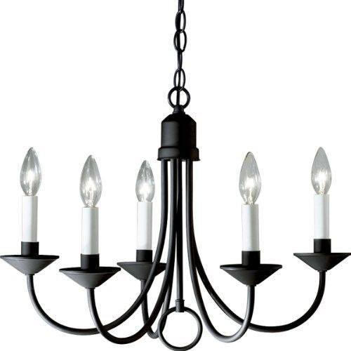 ThisBlack Rustic Chandelier is a traditional Shaker style fixture designed for classic simplicity and beauty. Uses (5) 60-Watt candelabra bulbs. Black Rustic Chandelier Features Black Rustic Chandelier. | eBay!