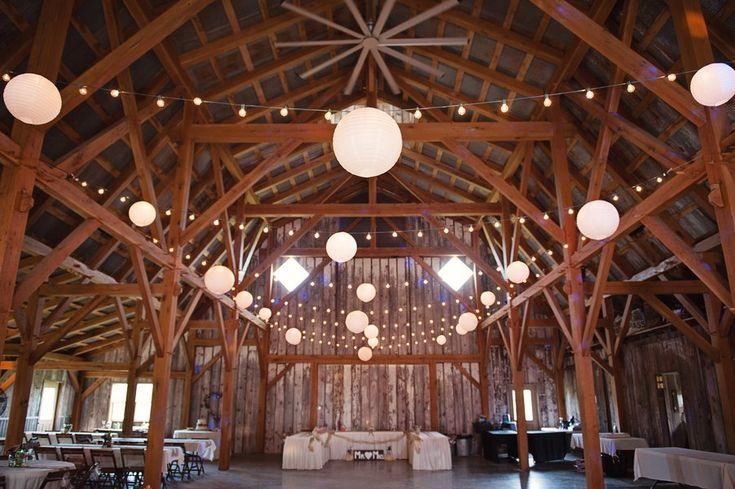 Farm Wedding Barn Decorations