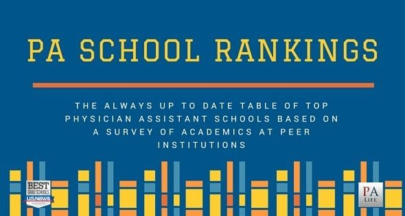 What are the Best PA Schools? Physician Assistant School Rankings http://www.thepalife.com/what-are-the-best-pa-schools-physician-assistant-school-rankings/