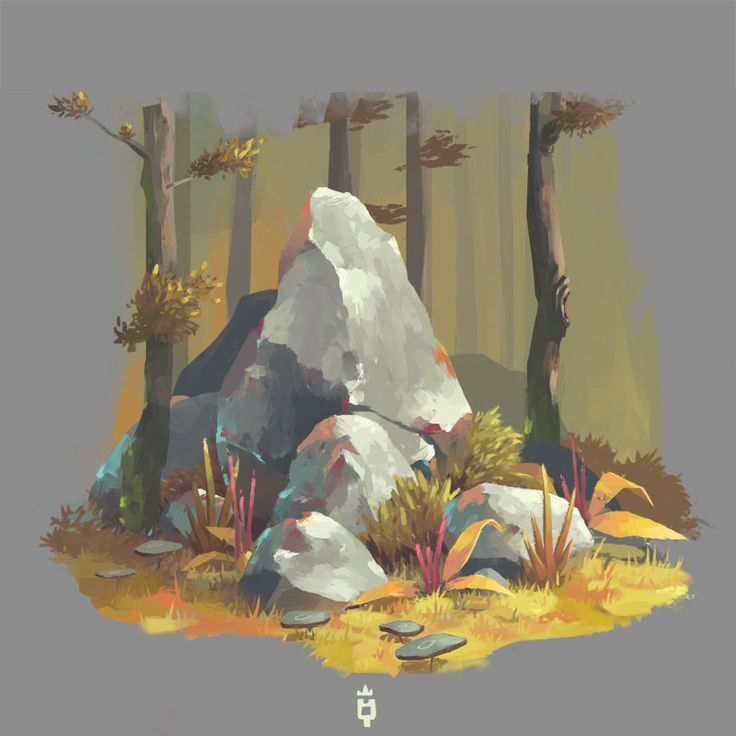 Rocks Needed, Jimmy  Malachier on ArtStation at https://www.artstation.com/artwork/rocks-needed