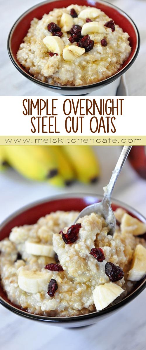Check out this post for hearty, healthy Overnight Steel Cut Oats as well as some other great breakfast ideas.