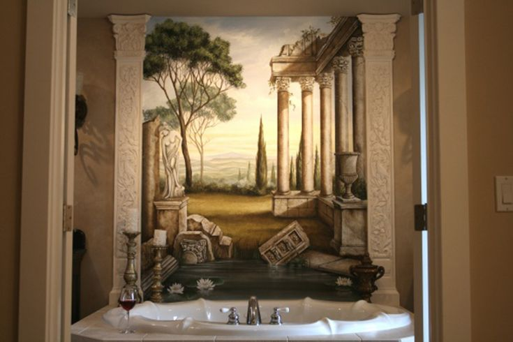 31 best greek and roman style home decor ideas images on Roman style bathroom designs