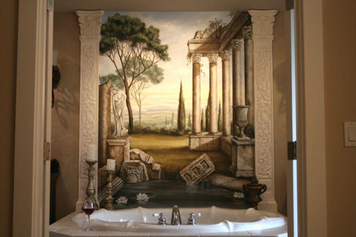 Stunning Roman Style Bathroom Designs 7 Photos