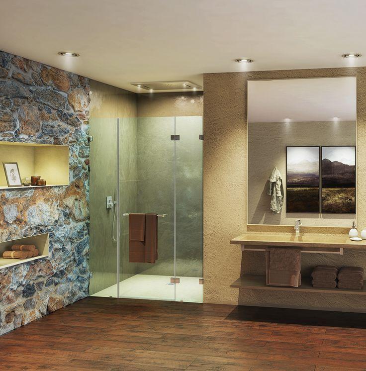 Die besten 25+ Duschnische Ideen auf Pinterest Master-Dusche - wohnzimmer vorwand mit deko nische