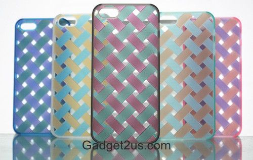 hollowed out case knitted iphone5s
