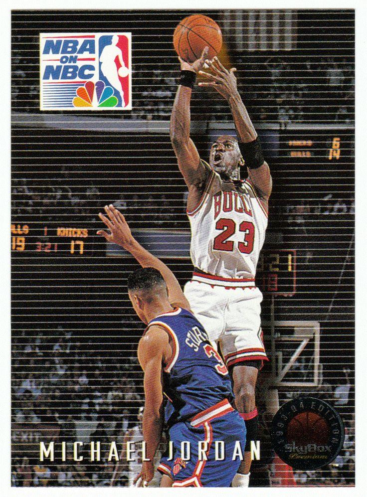 Michael Jordan # 14 - 1993-94 SkyBox Premium Basketball